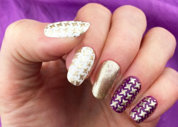 The Unail Nail Stencil Set Windmill Design Is A Collection
