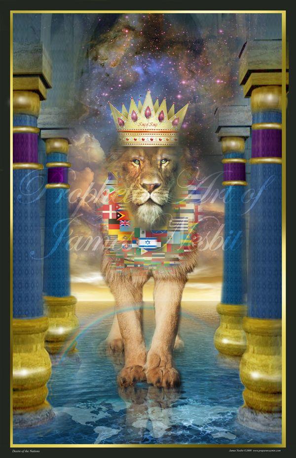 Image result for prophetic art James Nesbit Lion