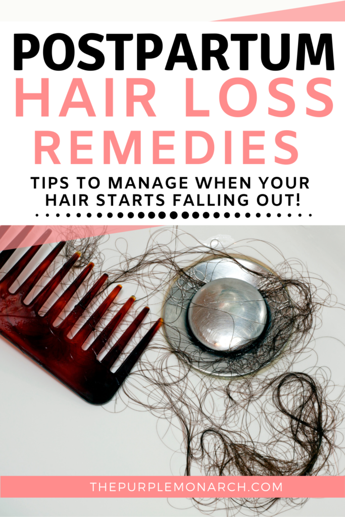 Help, My Hair is Falling Out! How to Manage Postpartum ...