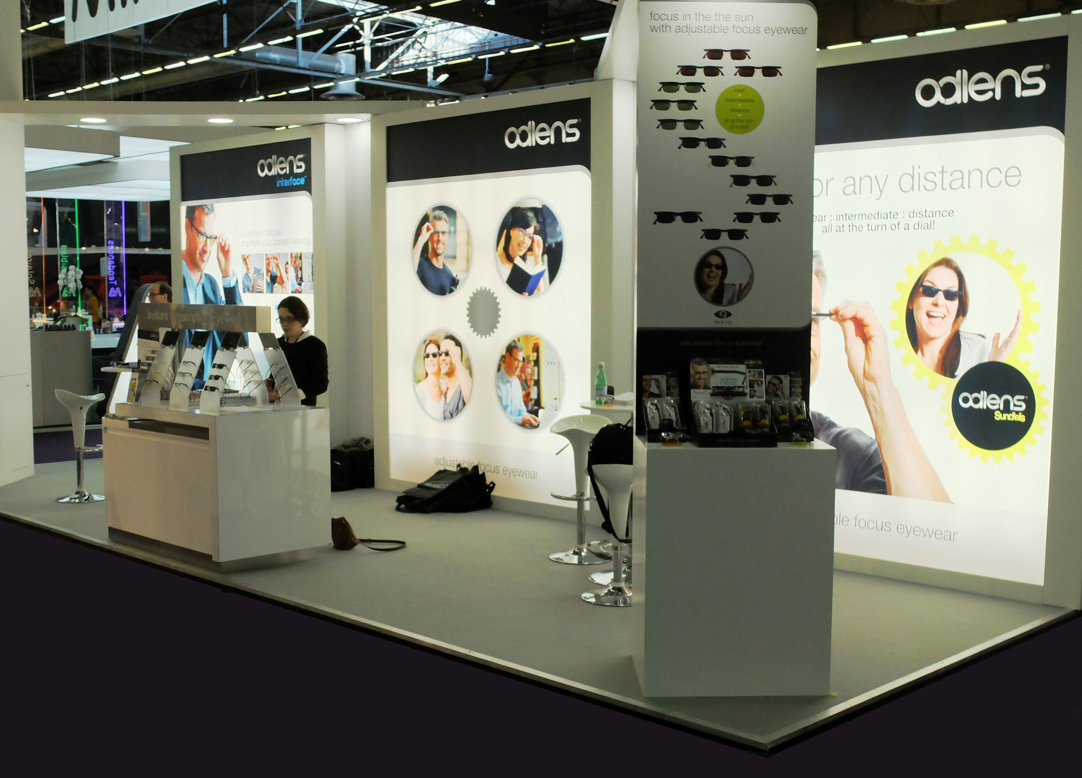 Salon Silmo Exhibition Stand: Built And Installed At Silmo 2014 At