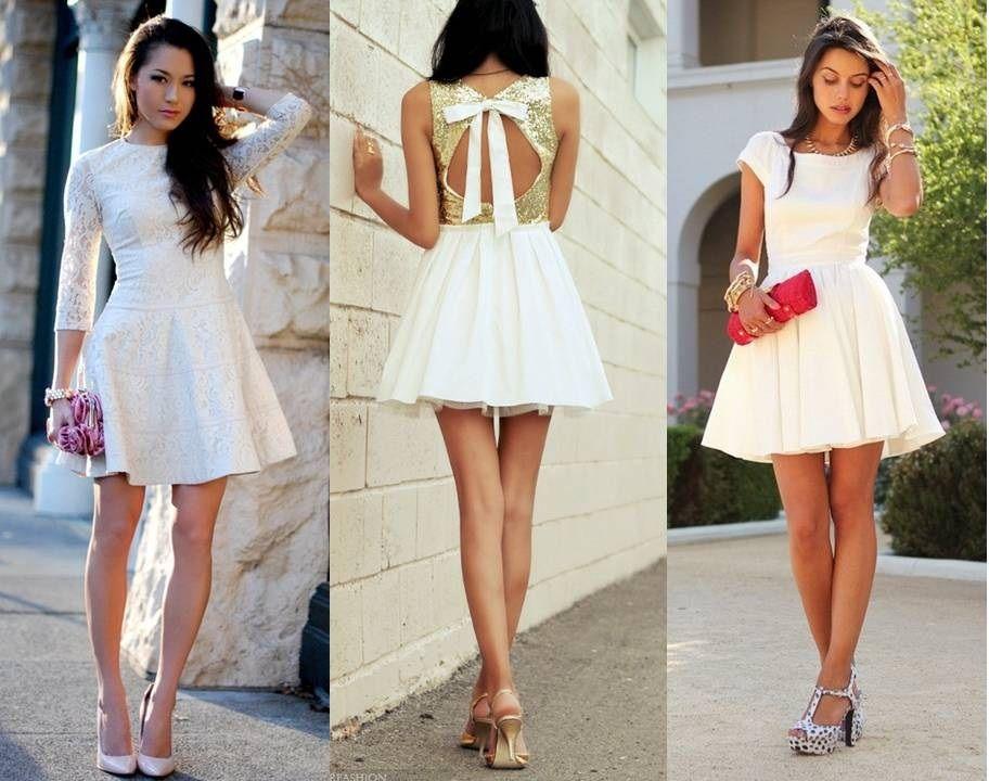 vestido branco casamento civil - Pesquisa Google