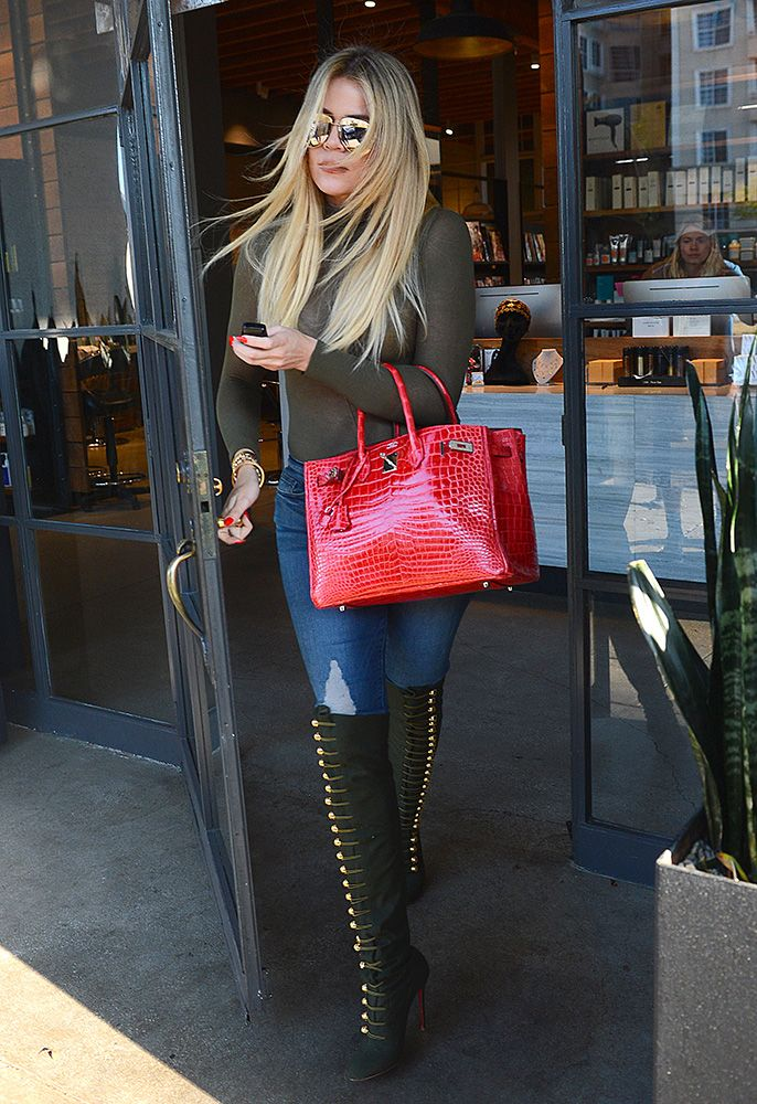 Just Can t Get Enough  Khloé Kardashian s Hermès Birkin Collection is  Nearly as Impressive as Her Mom s bd1e530fe6f89