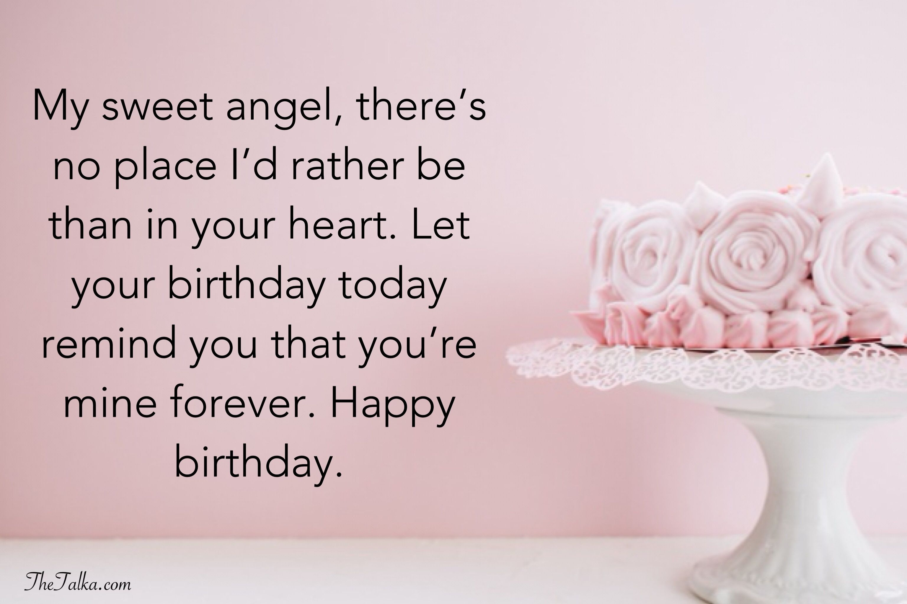 Birthday Wishes For Girlfriend Heartwarming, Impressive