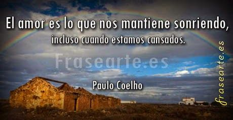 Mensajes de amor Paulo Coelho