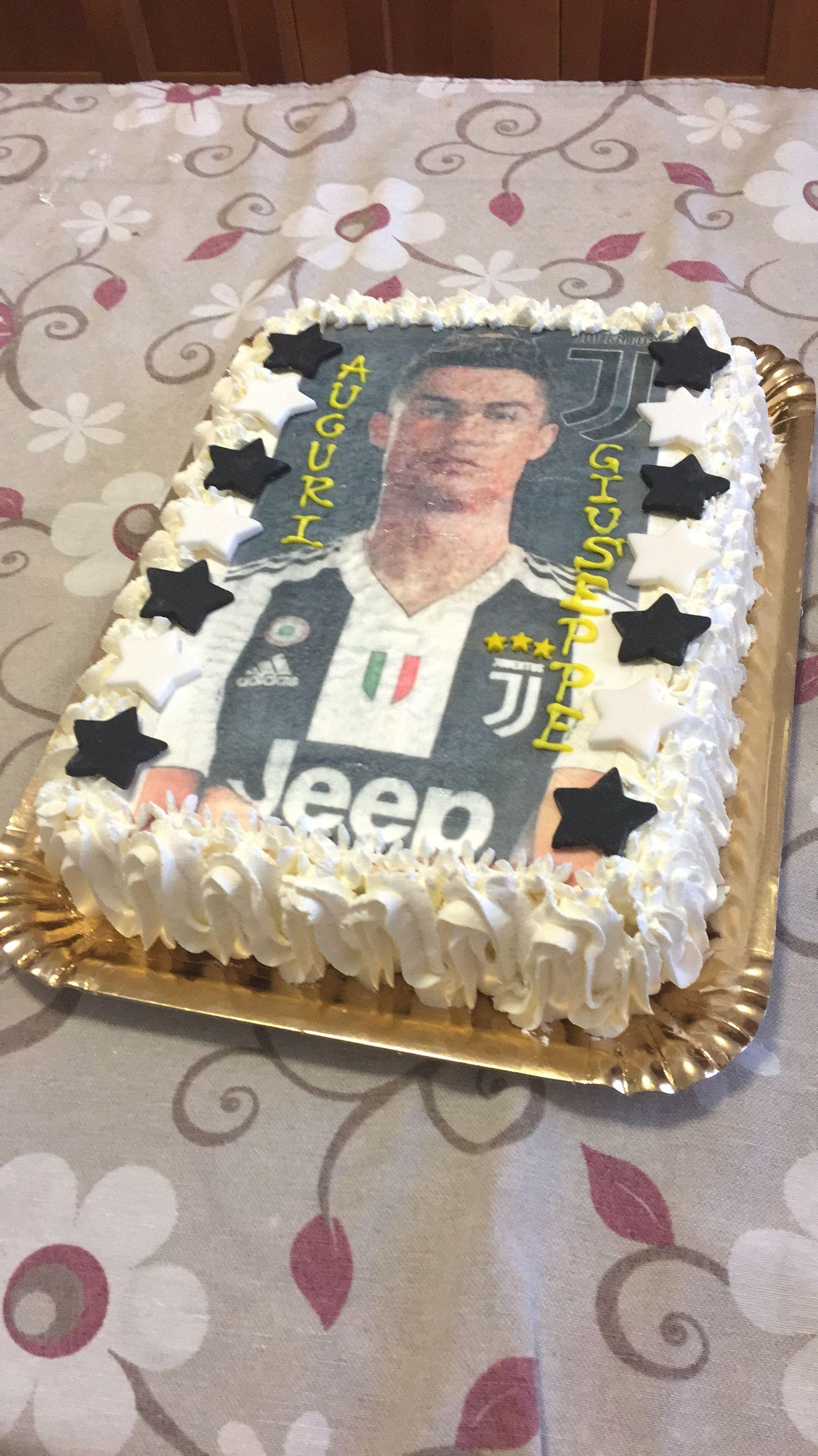 Torta Juve Ronaldo Torte Nel 2019 Feste Di Compleanno
