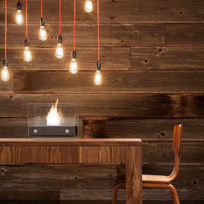 Inspiration Wood Paneling Ideas in Modern Homes : Wood Walls With Hanging  Lamp
