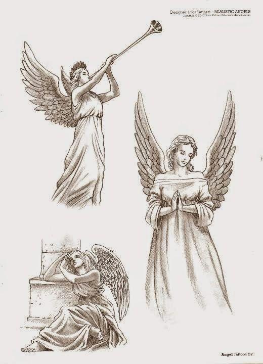 Los Mejores Tatuajes De Angeles Para Chicas Femeninos Y Llenos De Fuerza Angeles Dibujos Tatuaje Angel Disenos De Tatuaje De Angel