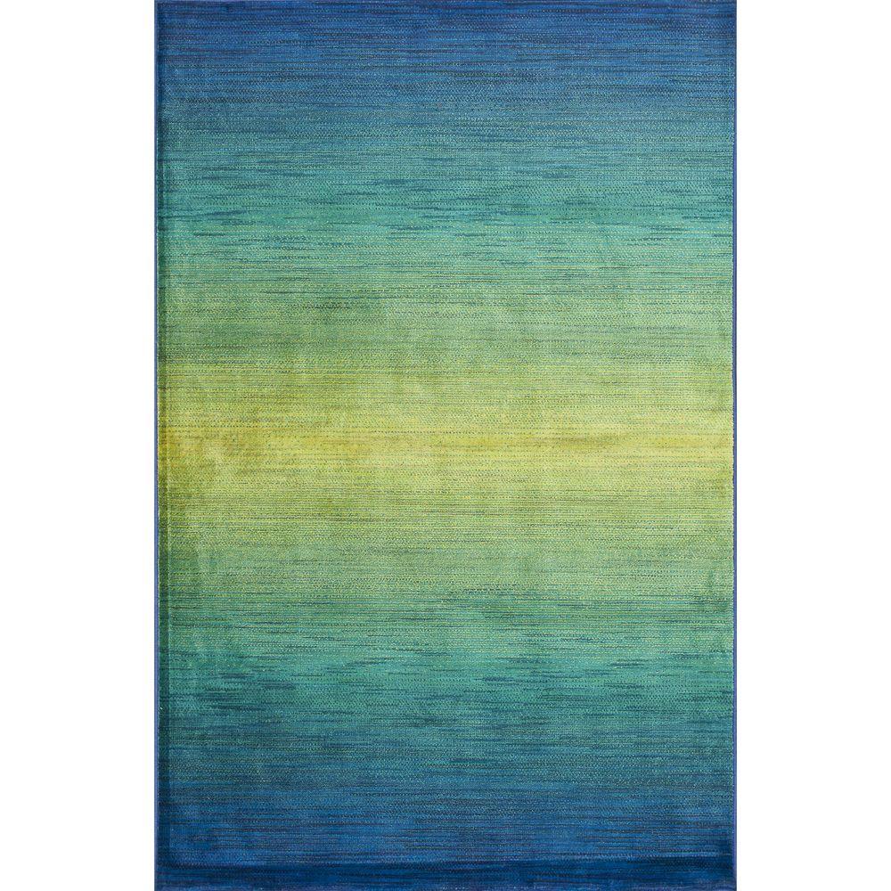 Skye Monet Waterfall Rug 77 X 105