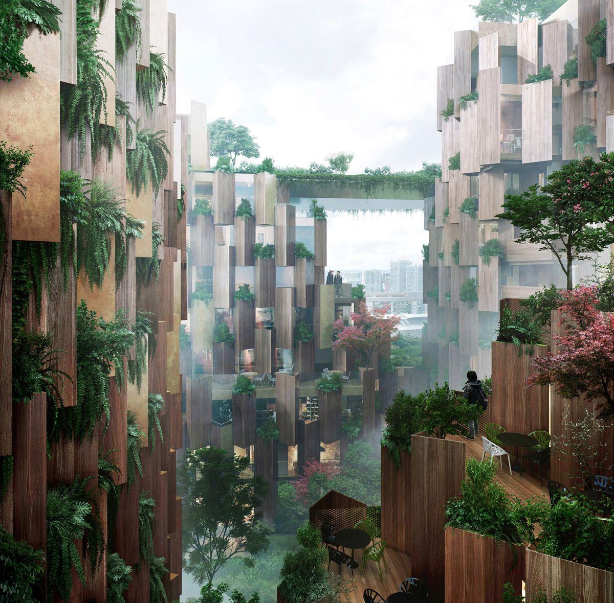 Sena Hospitality Design: Kengo Kuma & Associates, 1Hotel De París