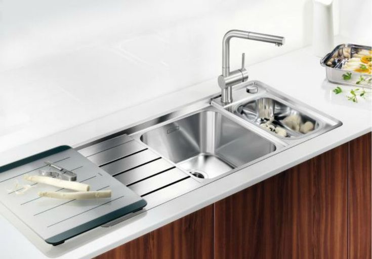 5 Drainboard Sinks That Will Have You Swooning  Sinks Faucet And Custom Kitchen Sinks With Drainboards Design Ideas