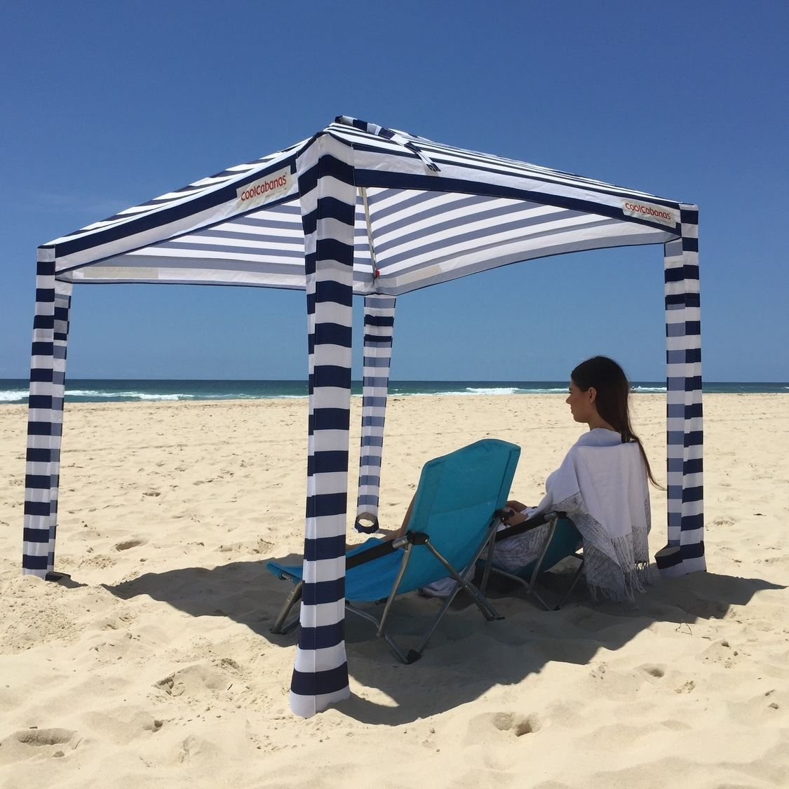 Cool Cabanas So Easy Want This Striped One