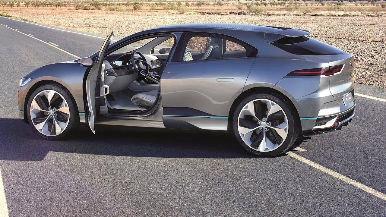 2018 Jaguar I Pace Concept Interior Exterior And Drive Jaguar Carros Y Motos Motores