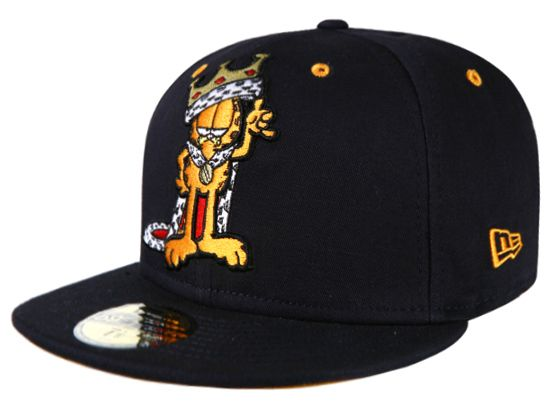 King 59Fifty Fitted Cap by GARFIELD x NEW ERA  0978b9e1de94