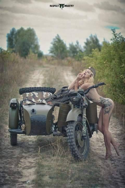 Girls and Bikes. blood boils at the sight of this… check it out…. Follow Me …
