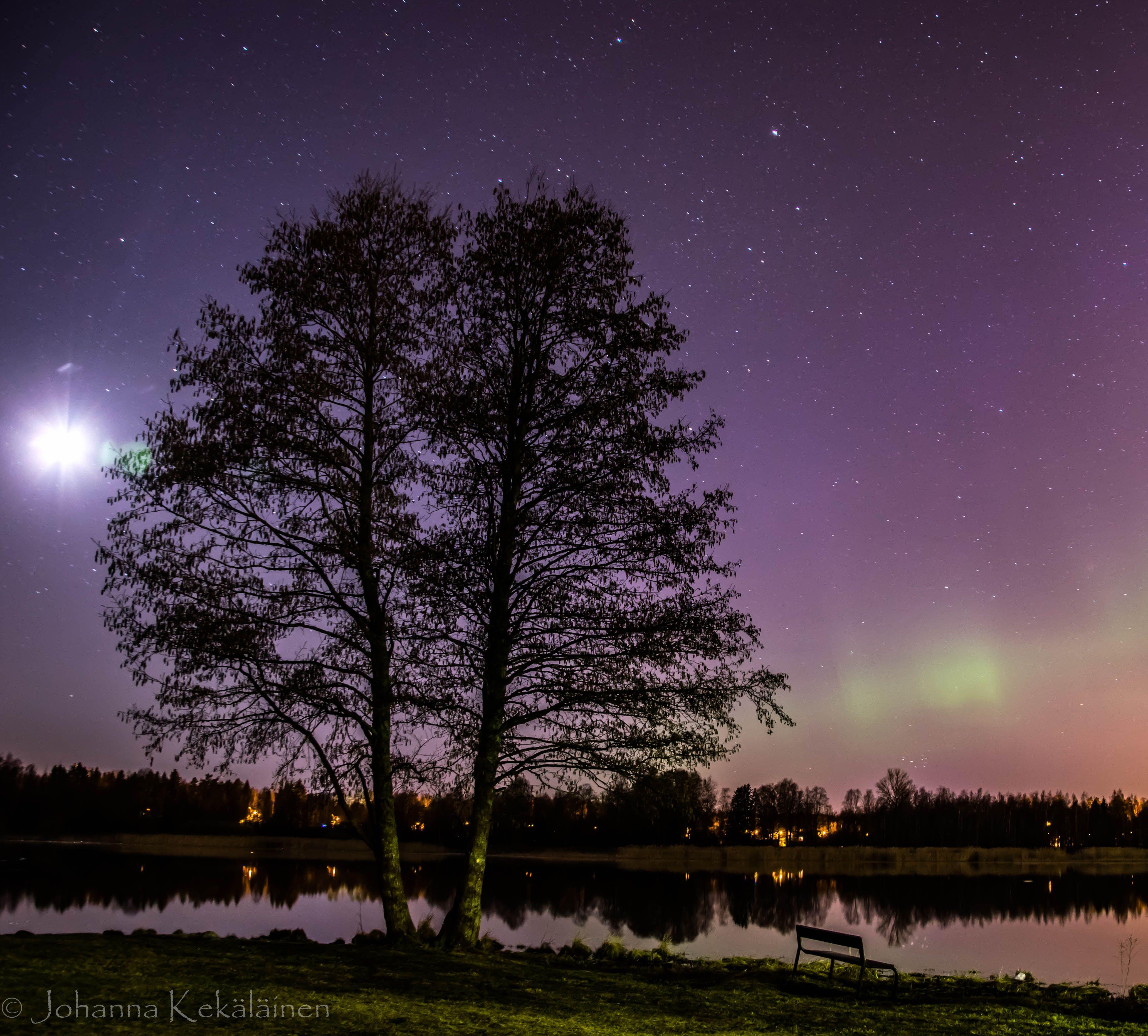 Such a pretty night. Järvenpää Finland. OC [4127x3724 ...