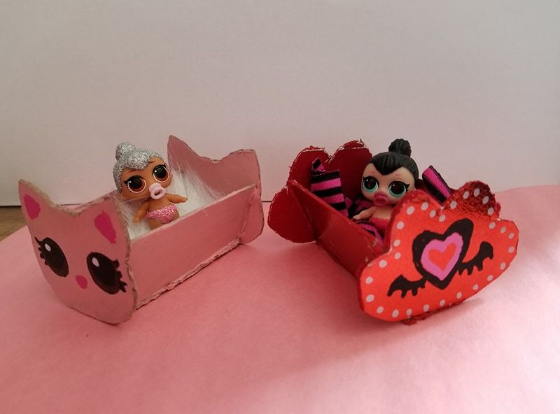 Tutorial For Making Diy Custom Lol Surprise Dollhouse Crib Cute Bed