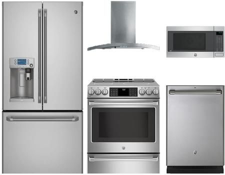 Ge Cafe 891471 Kitchen Appliance Packages Kitchen Appliance