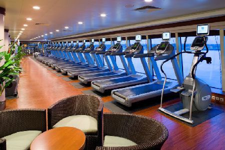 #norwegian #fitness #center #aboard #pearl #theFitness center aboard the Norwegian Pearl