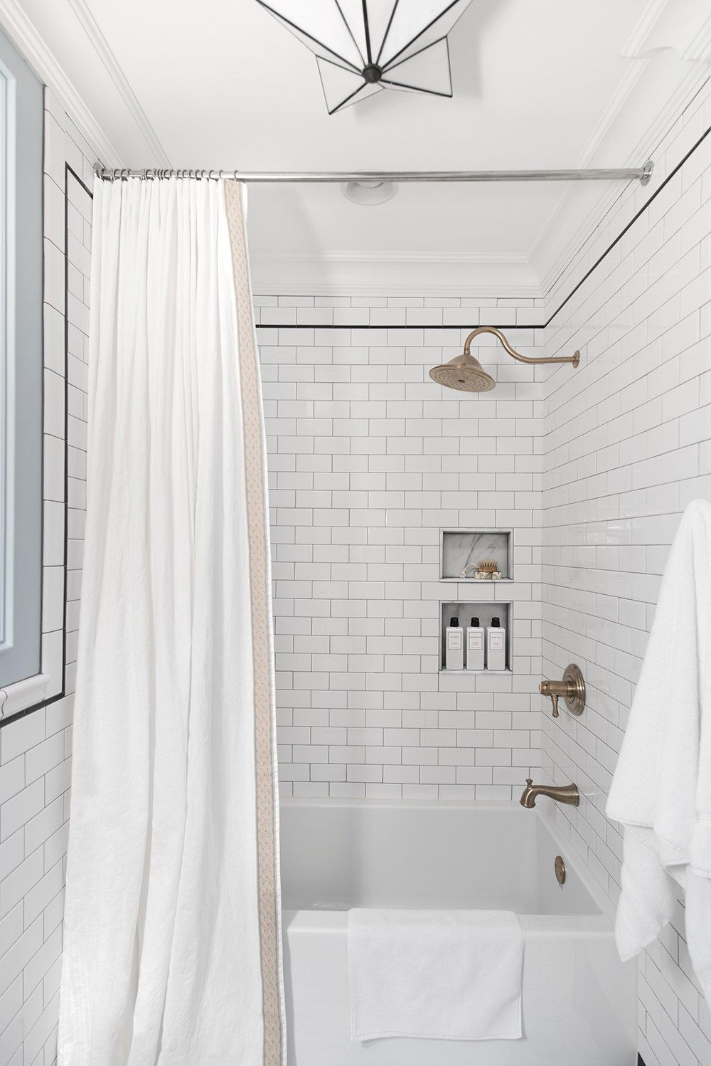 Extra Long Shower Curtain Diy Room For Tuesday Blog Long Shower Curtains Extra Long Shower Curtain Diy Shower Curtain
