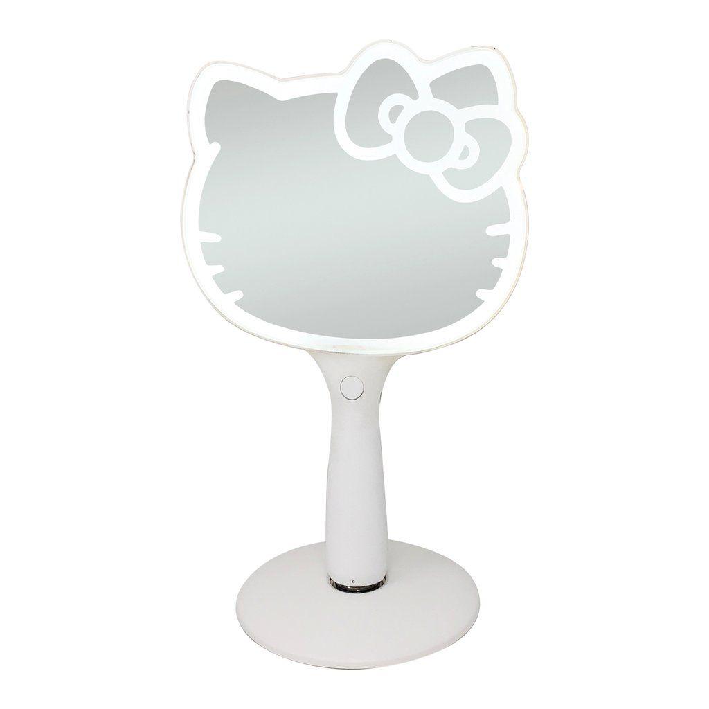 Hello Kitty Led Hand Mirror In 2020 Hello Kitty Vanity Set Led