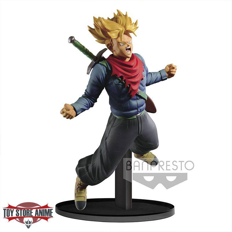 14cm  Banpresto Figurine DBZ Dragon Ball Z Scultures Future Trunks Shining