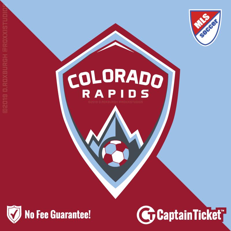 Colorado Rapids Team Logo Colorado Rapids Football Logo Design Sports Logo Design