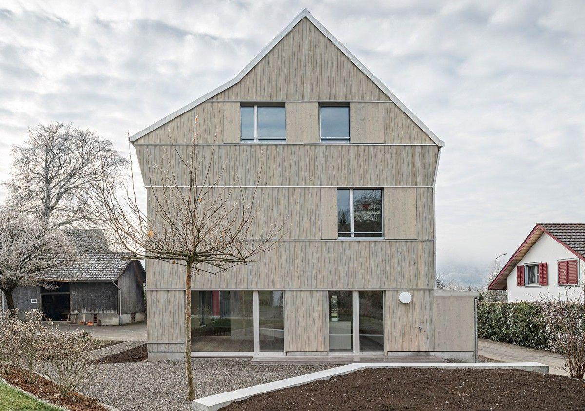 Mirlo Urbano . Detached House . Glattfelden (1) | MATERIAL holzbau ...