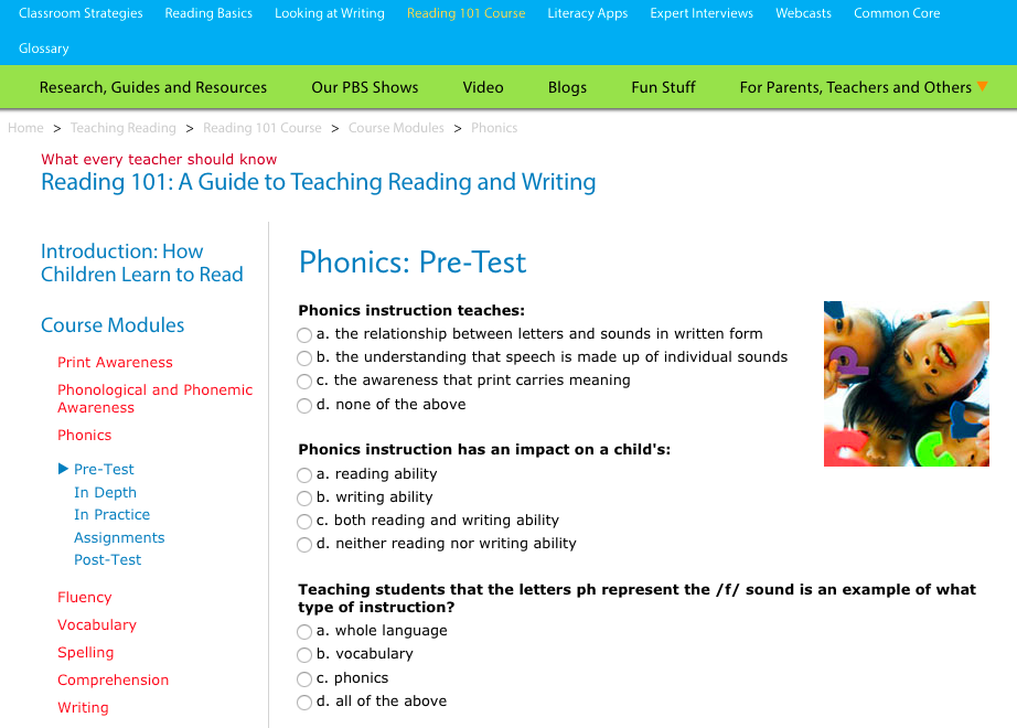 Understanding In order to provide an effective literacy