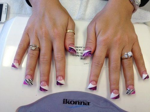 flare nails | Tumblr - Flare Nails Tumblr Nails Pinterest Flare Nails, Nail Nail