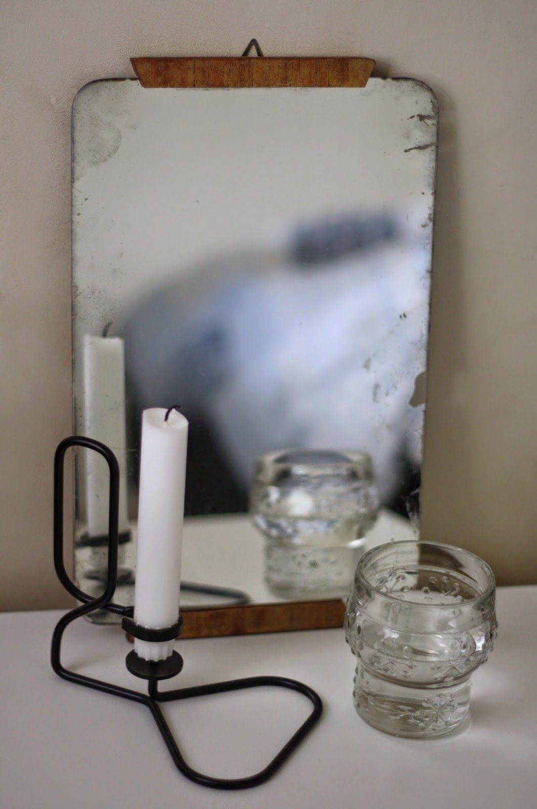 vanha peili - kylppäriin