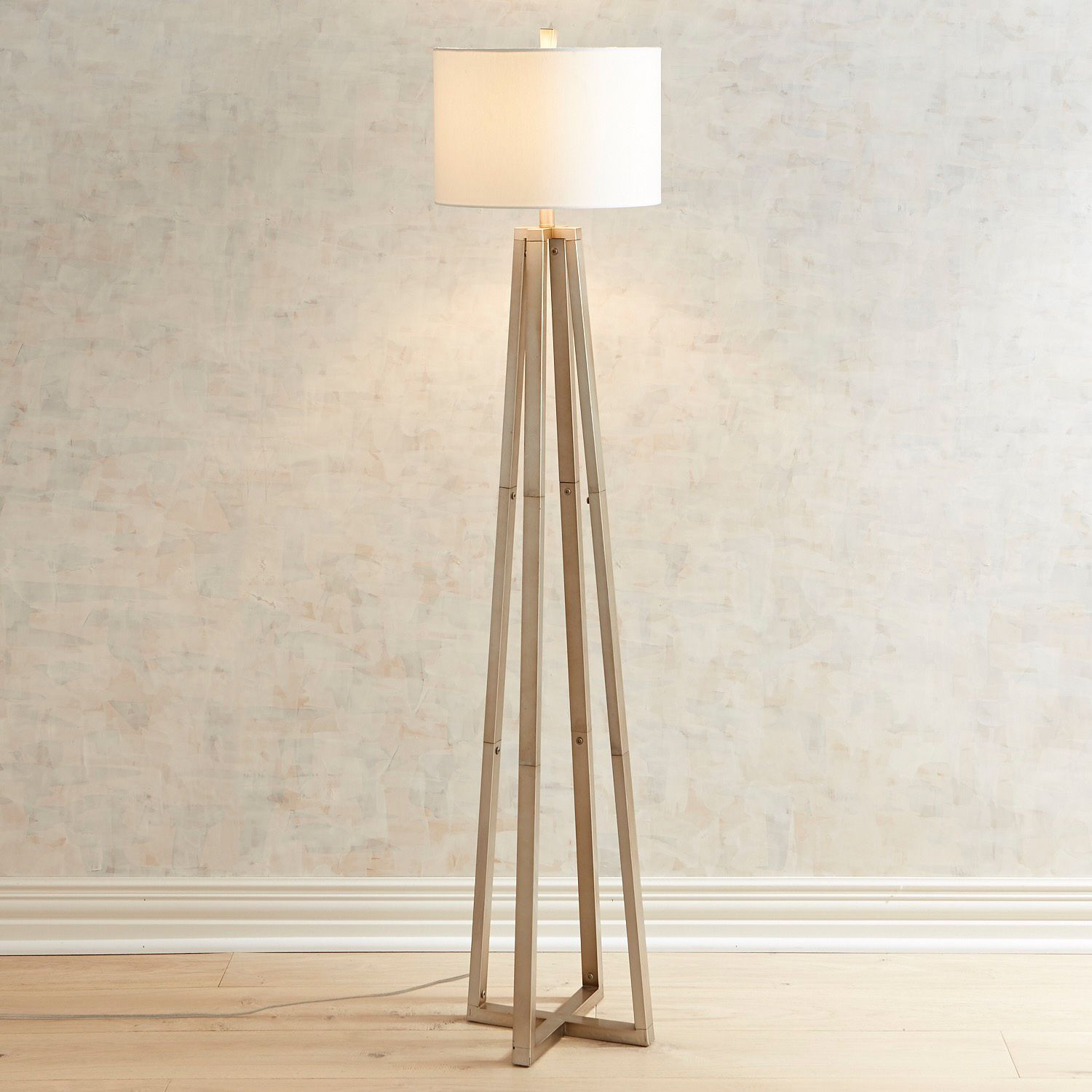 Champagne Noe Metal Floor Lamp Pier 1 Imports Farmhouselamps