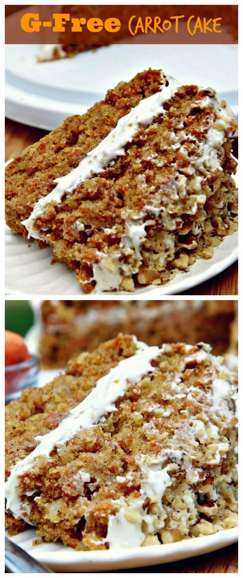 Taste this fluffy moist glutenfree carrotcake Gluten free