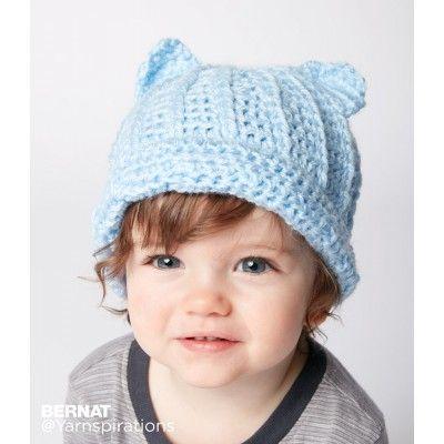 1f2d863b1e1 Free Easy Crochet Baby Hat Pattern