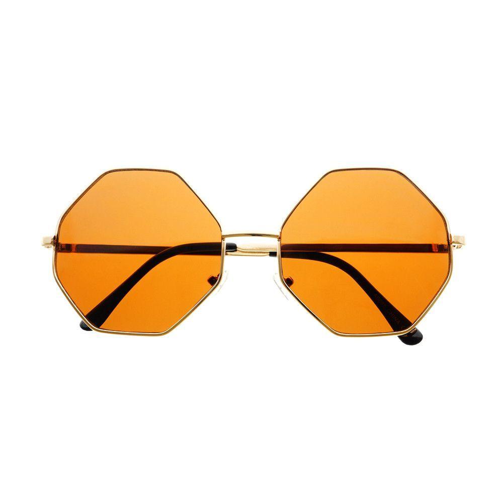 3f3c2ea79f2 Designer Retro Metal Octagonal Round Sunglasses Silver R1092 – FREYRS -  Beautifully designed