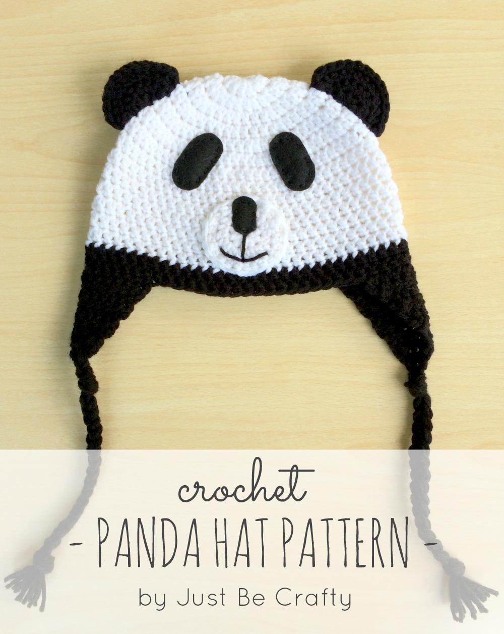 NEW PATTERN!! Crochet Panda Hat | Pinterest | Crochet panda, Panda ...