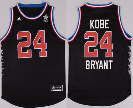 2015 NBA Western All-Stars  24 Kobe Bryant Revolution 30 Swingman Black  Jersey 17b6061c2