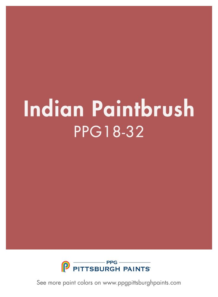 Try bold red paint color Indian Paintbrush by PPG Pittsburgh Paints for the perfect pop of