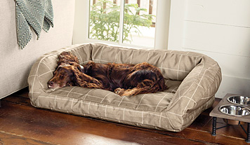 Click to view larger image(s) Dog bed, Bolster dog bed