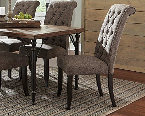 Ashley Furniture Signature Design  Tripton Dining Room Chair Brilliant Upholstered Dining Room Chairs Inspiration