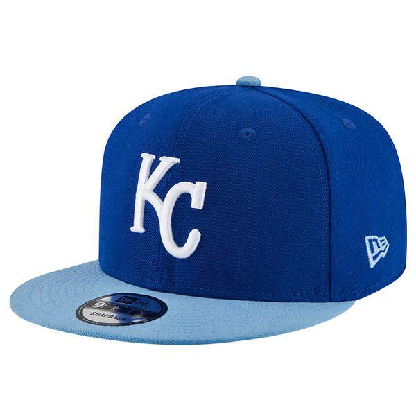 brand new 51f69 de3a2 Men s Kansas City Royals New Era Royal Team Patcher Adjustable Hat,  27.99