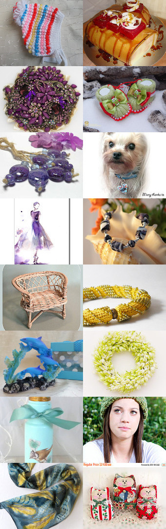 Сhristmas gifts by Alla Chait on Etsy--Pinned with TreasuryPin.com