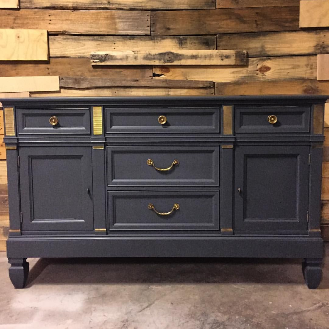 Loving This Stunning Dresser By Reclaimed Karma Painted In Queenstown Gray Milk Paint
