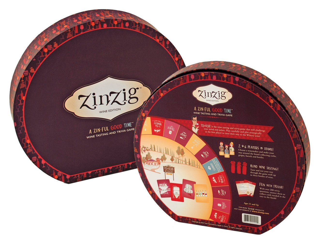 Zinzig Wine Tasting And Trivia Board Game By True You Can Get Additional Details At The Image Link I Wine Tasting Card Wine Tasting Wine Tasting Experience