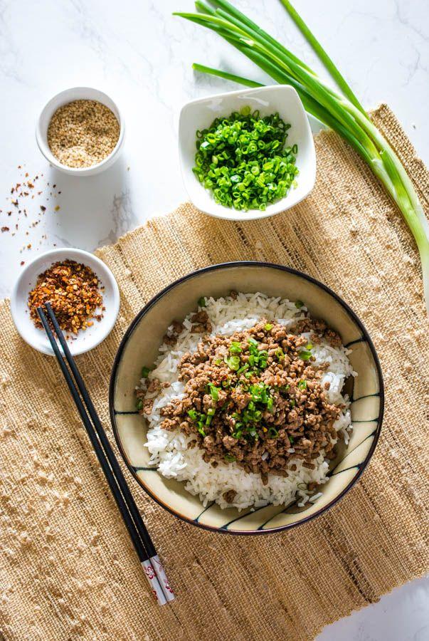 Easy Korean Beef Bowl   Recipe   Korean beef bowl, Korean ...