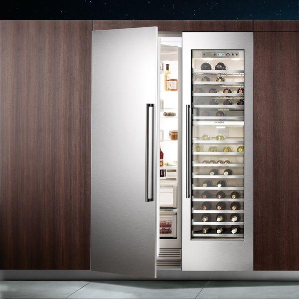 siemens built in vinothek wine cooler k che pinterest schrank weink hlschrank und k hlschrank. Black Bedroom Furniture Sets. Home Design Ideas