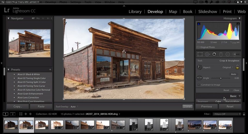Learn Lightroom 6 Cc Episode 17 Hdr From A Single Image Lightroom Learn Lightroom Photoshop Lightroom Tutorial