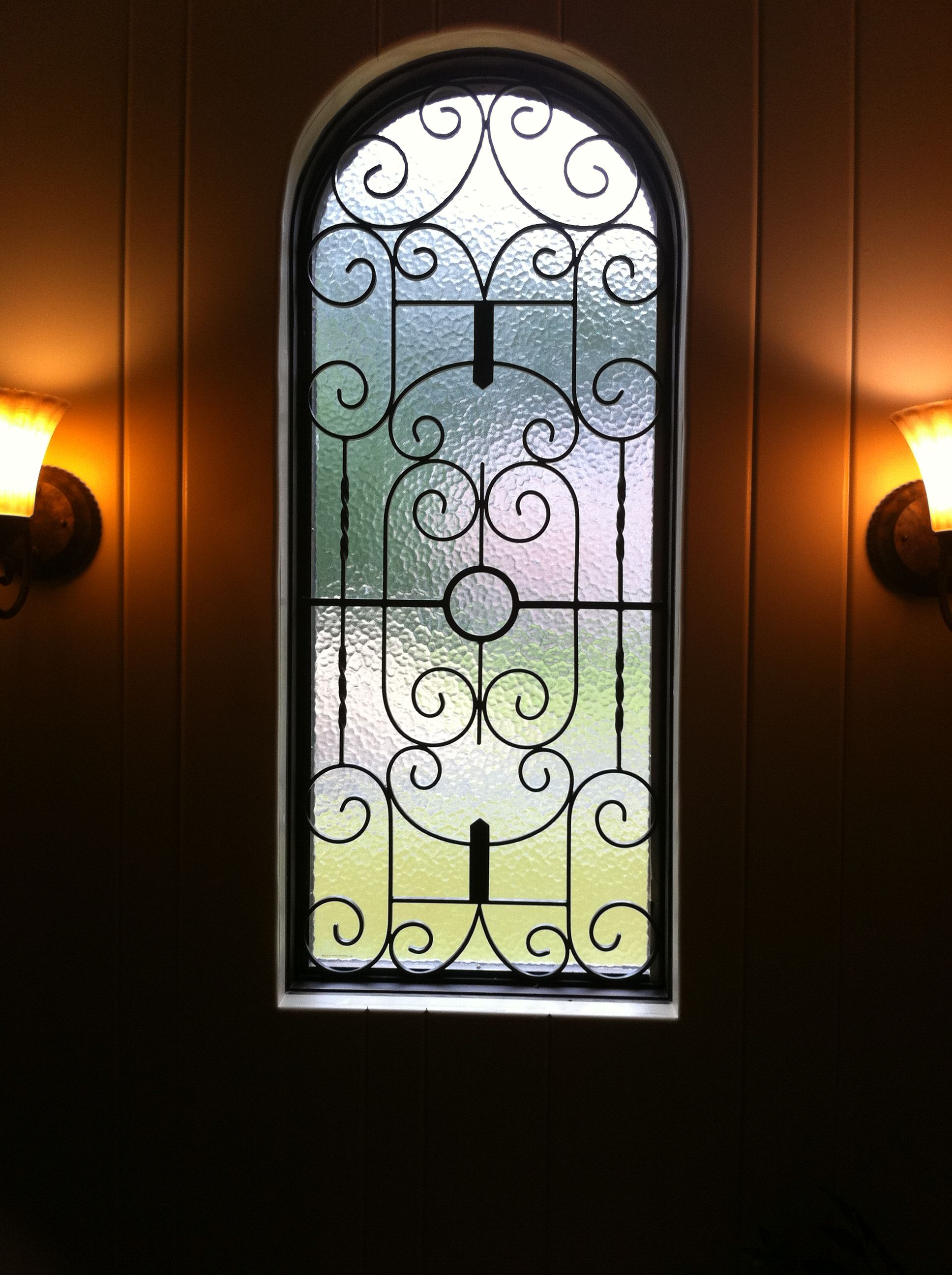 Grill pattern door grill design patterns manufacturer from new delhi - Wrought Iron Window Grill