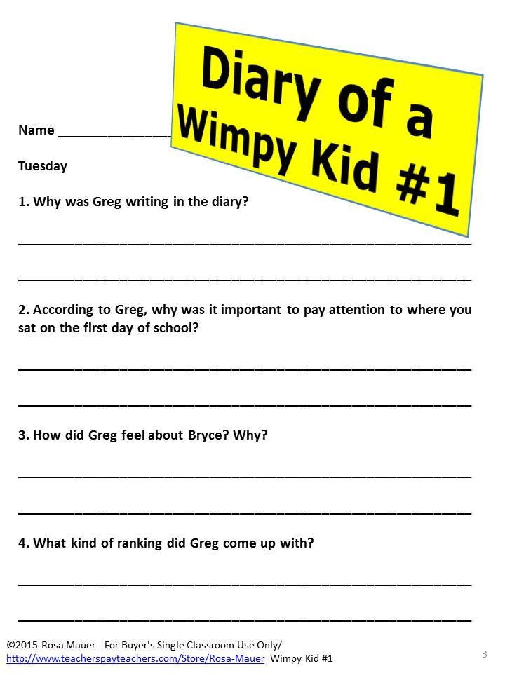 Diary of a wimpy kid novel study jeff kinney wimpy and diary of a wimpy kid novel study solutioingenieria Image collections