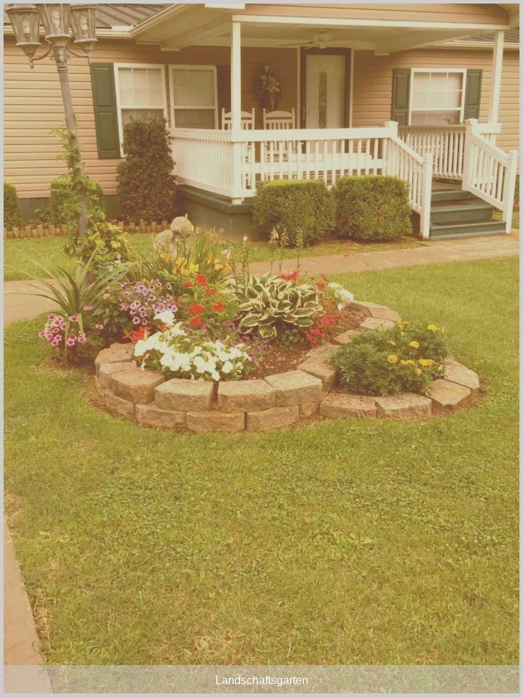 #landschaftsgarten - 50 New Front Yard Landscaping Design Ideas #Yardideas  #BestGardenideas #Design #Front #idea