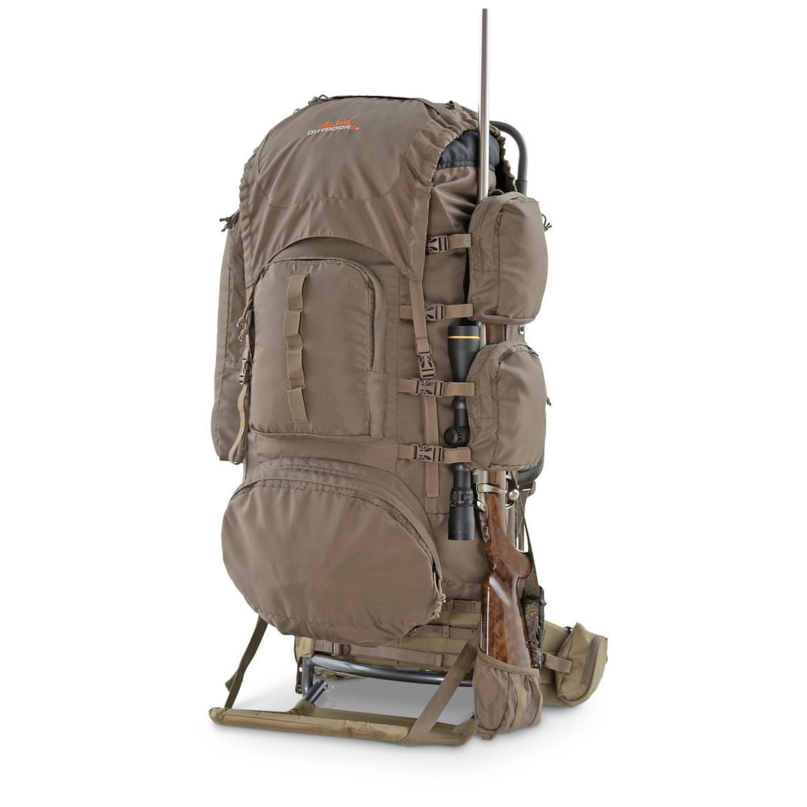 Alps Outdoorz Commander Freighter Frame Pack Bag Hunting Backpacks Hunting Packs Hunting Bags